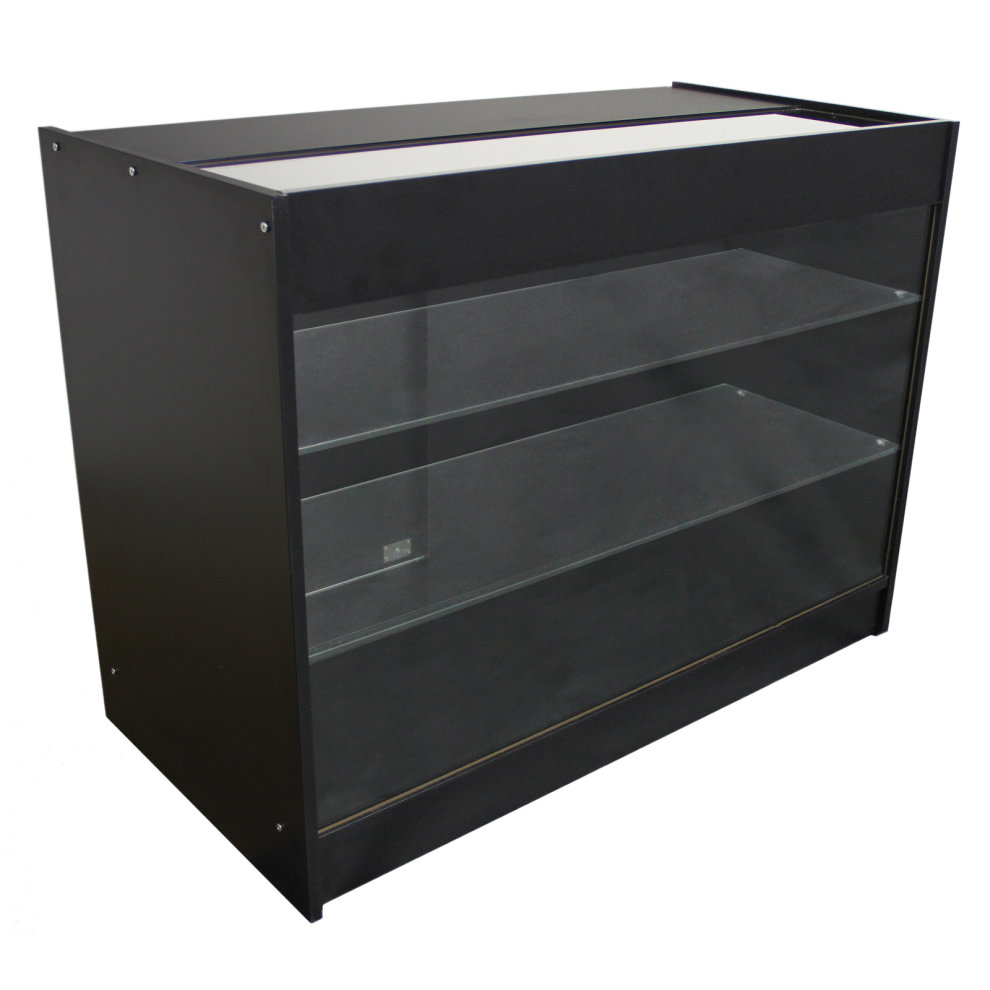 Black Retail Product Display Cabinets 2