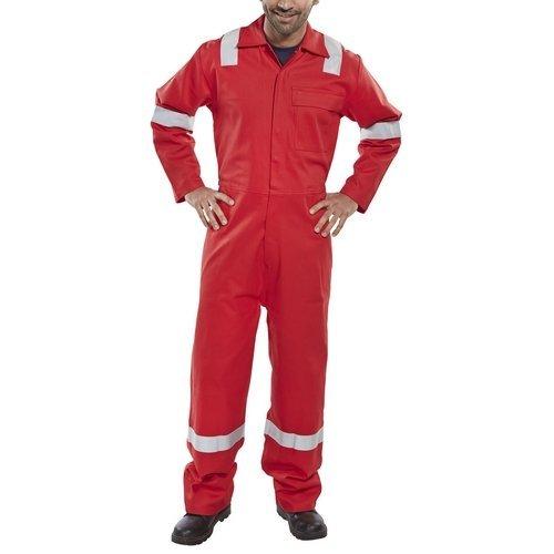 """Click CFRBSNDRE36 Flame Retardant Nordic Design Boiler Suit Royal Red 36"""""""