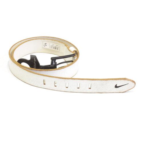 Bill Adler 40mm Nike Golf Belt White