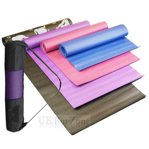 Yoga, Pilates, Exercise Mats in Various Colors