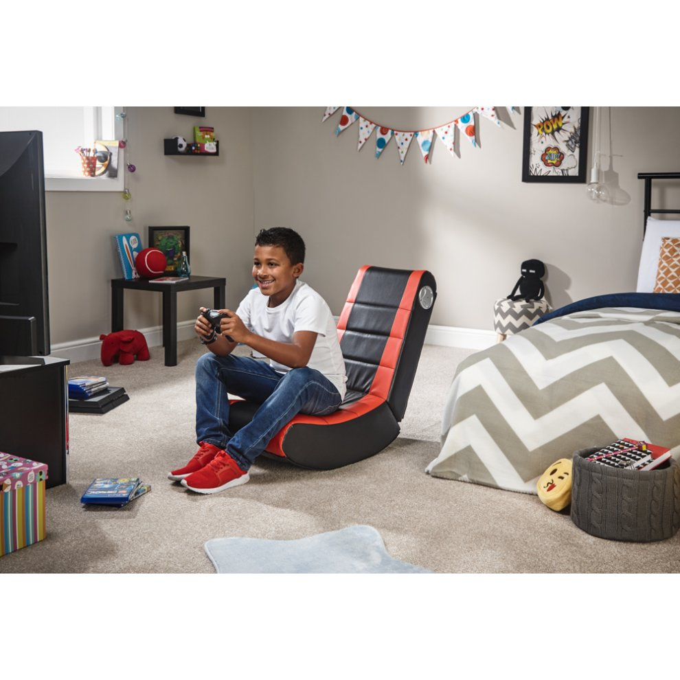 Kidsu0027 X Rocker Flash 2.0 Floor Rocker | Folding Kidsu0027 Gaming ...