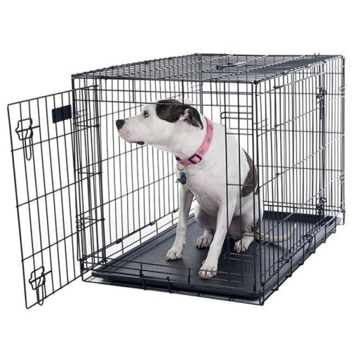 Petmaker 80-361501 36 x 23 in. Door Foldable Dog Crate Cage