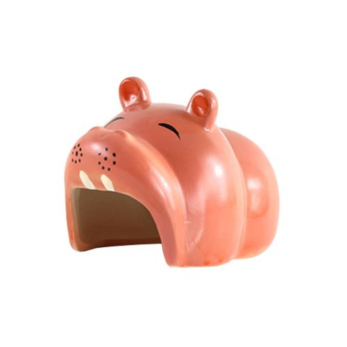 Resin and Ceramics Material Hamsters Habitat Milk Box Style Hamsters Toys