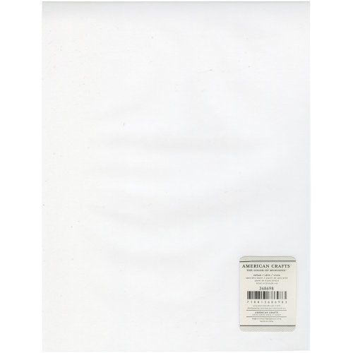 "American Crafts Inkjet Printable Vellum Sheet 8.5""X11""-27lb, Clear"