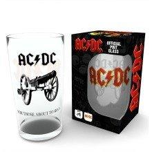 Ac/dc Rock Pint Glass