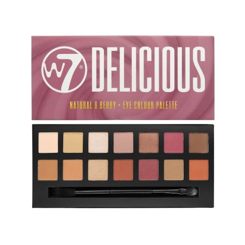 W7 Delicious Eye Colour Palette | Natural & Berry Eyeshadows