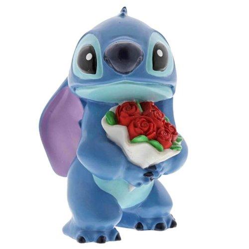 Disney Stitch Flowers Mini Figurine