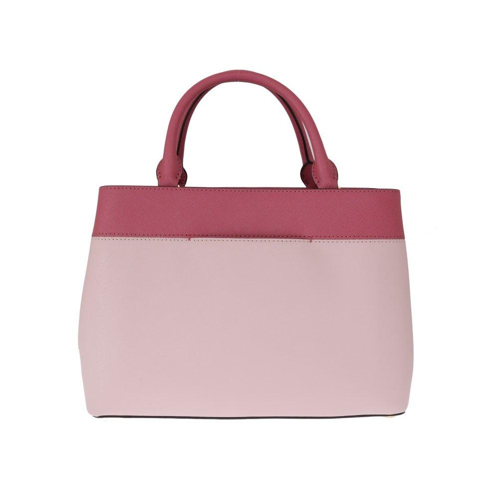 0bf7cffdb73a ... Michael Kors Handbags Pink HAILEE Leather Tote Bag - 3 ...