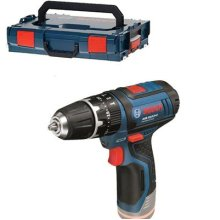 Bosch GSB 10,8-2-LI Professional Cordless Hammer Drill + L-Boxx Without Battery