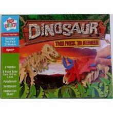 Kids Create - Dinosaur 3D Models (2 per box)