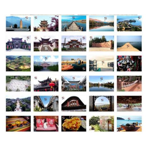 30PCS 1 Set Creative Postcards Artistic Beautiful Postcards, Dali Impression