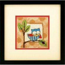 D71-07239 - Dimensions Mini Needlepoint - Curious Owl