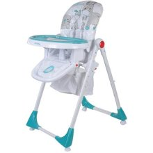 Sun Baby Comfort Lux High Chair, Turquoise