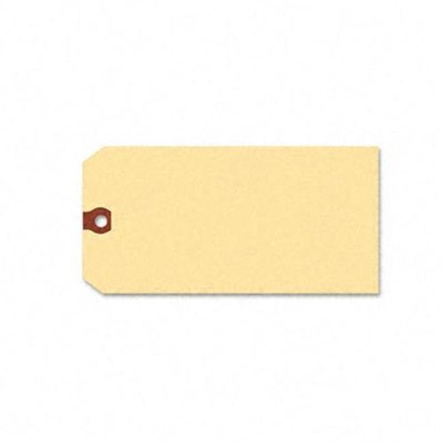 Avery 12308 Unstrung Shipping Tag with Reinforced Eyelet  Paper  6-1/4 x 3-1/8  Manila  1000/Pk
