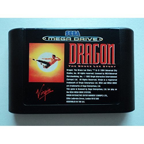 Dragon: The Bruce Lee Story (Mega Drive)