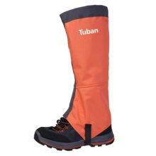 Outdoors Boot Gaiters Waterproof Podotheca Foot Strap Leg Bindings,1 Pair,Orange