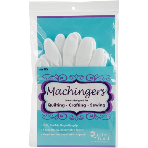 Quilter's Touch Machingers Gloves 1 Pair-Extra Small