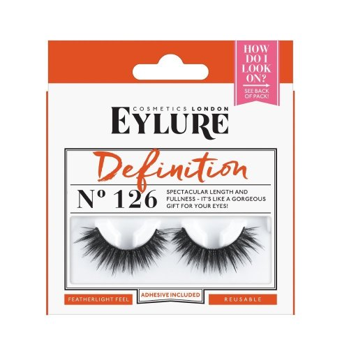 Eylure Strip False Lashes Number 126, Definition