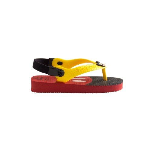 Havaianas Baby Mickey Disney Red Flip Flops - UK 1-2