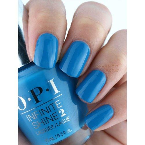 OPI Infinite Shine2 Nail Lacquer Wild Blue Yonder 15ML
