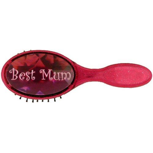 Best Mum Bejewelled Hairbrush