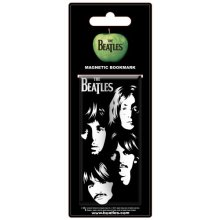 Beatles - Bookmark Illustrated Faces (in One Size) -  beatles bookmark illustrated faces one size