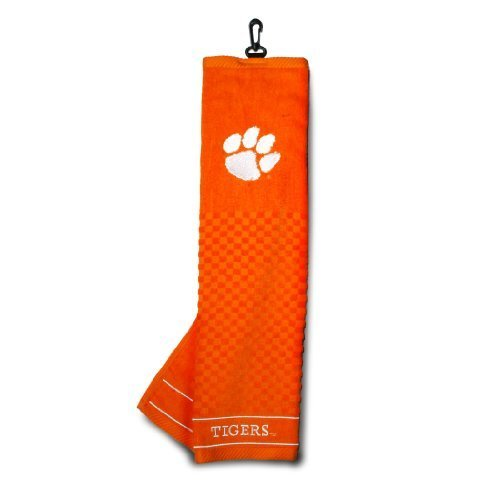 NCAA Clemson Tigers Embroidered Golf Towel