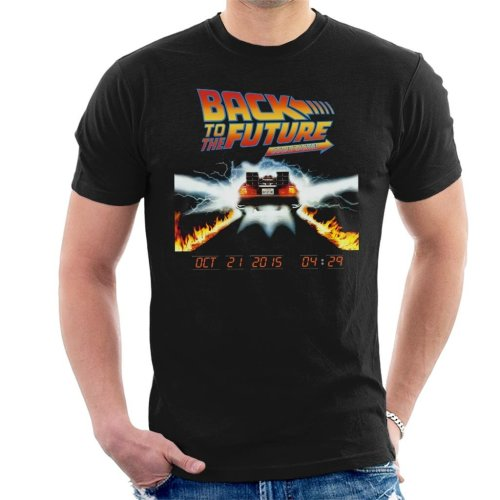 Back To The Future Count Down Men's T-Shirt