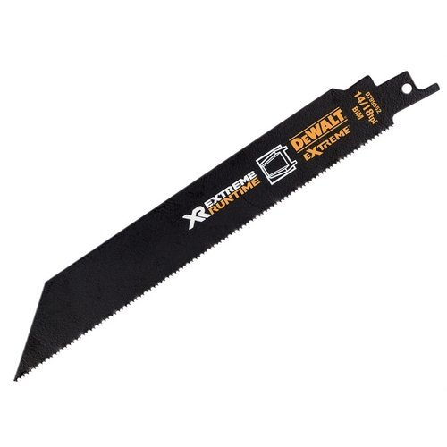 DeWalt DT99552-QZ FlexVolt Xtreme Runtime Metal Reciprocating Blades 203mm 14/18 TPI Pack of 5
