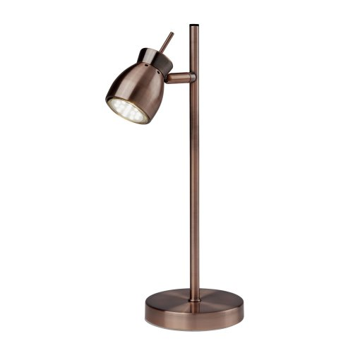 Searchlight Jupiter Antique Copper 1 Light Table Lamp