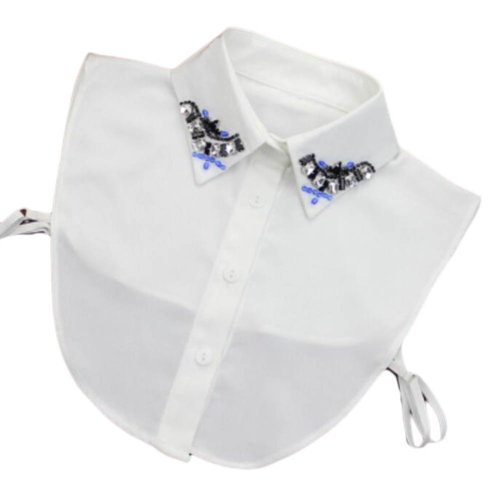 Elegant Women's Fake Half Shirt Blouse Collar Detachable Collar-A01