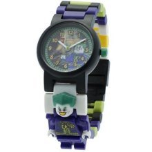 Lego DC Universe Super Heroes The Joker Minifigure Link Children's Quartz Watch