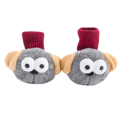 Kids Funny Socks Keep Warm Floor Socks Winter Cotton Boot Socks-A1