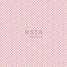 wallpaper rhombus motif red - 115715