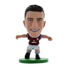 Ciaran Clark Aston Villa Home Kit Soccerstarz Figure - Fc New -  aston villa clark soccerstarz ciaran home fc new