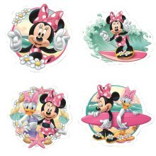 Disney Minnie Mouse Bath Puzzles (2 - 4 Pieces)