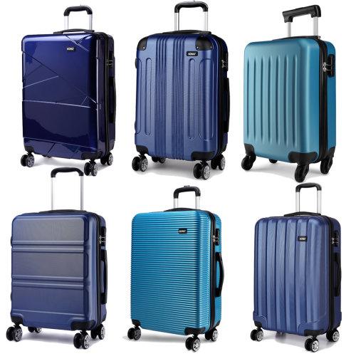 2140eb19b KONO Suitcase Luggage Travel Bag Hard Shell Trolley Case Navy Blue 28 Inch  on OnBuy