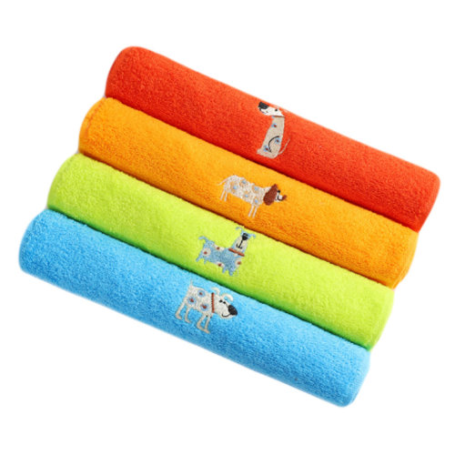 Cute and Soft Absorbent Cotton Towel for Toddler and Kids #1