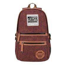 Korean Tide Leisure Bag Backpack Backpack Sports Bag,Navy Blue