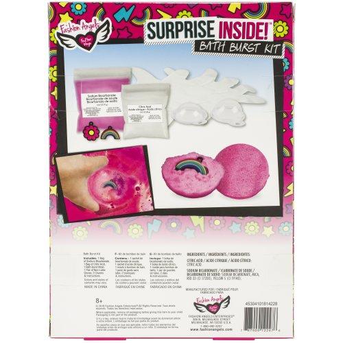 What's Inside? Surprise Bath Bomb Kit-