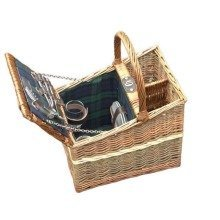 Lambourn Three Tone Fitted Picnic Basket
