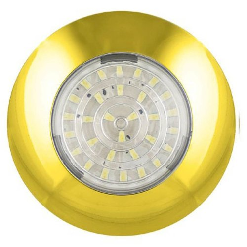 LED Autolamps LED Interior Lamp 7.5 cm Gold 7524G