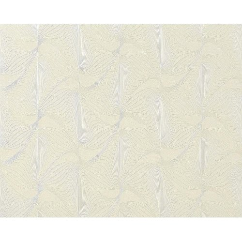 EDEM 959-20 wallpaper non-woven 3D graphical pattern retro style white 10.65 sqm