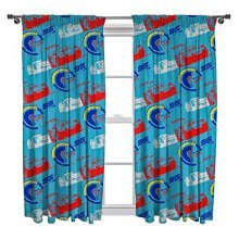 Cars 3 Lightning Curtains - 72 Inch -