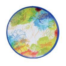Fashion Color Snack Tray Melamine Tableware Dish Disk Western Singles Caidie