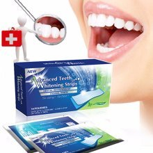 Advanced Teeth Whitening Strips Professional Mint Tooth Dental Whiten Kit