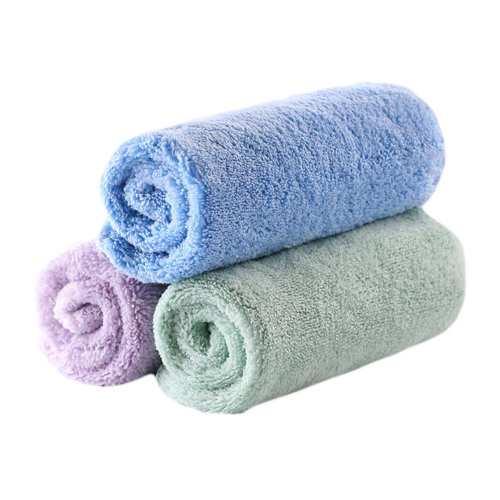 Child's Towels Kids Soft Cotton Towels 3 Packs for Baby Kids
