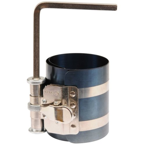 VOREL Piston Ring Compressor 50 - 125 mm 75 mm 294 g AISI 304 Heavy Duty
