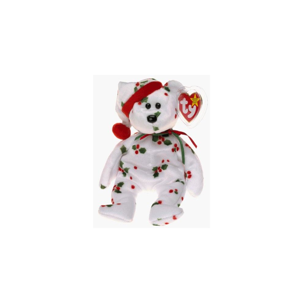 3715a2e5061 TY 1998 Holiday Teddy Beanie Baby  Toy  on OnBuy