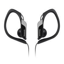 Panasonic Water/Sweat Resistant In Ear Sports Headphones - Black